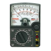 三和電気計器 アナログマルチテスタ SP20/C ハードケース付 1台 (直送品)