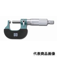 新潟精機 片球面マイクロメータ MC200-25T 151436 1個(直送品)
