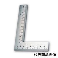 新潟精機 目盛付平形スコヤ 100ミリ E-100 1個 (直送品)