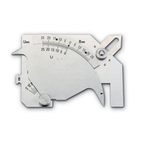 新潟精機 溶接ゲージ WGU-9M 1個 (直送品)