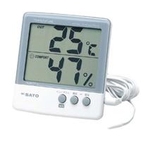 佐藤計量器製作所 デジタル温湿度計 PC-5000TRH II 1本 (直送品)