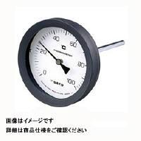 佐藤計量器製作所 バイメタル温度計 BM-T-100P (0/200℃、 L=50mm、 R(PT) 1/2) 1個 (直送品)