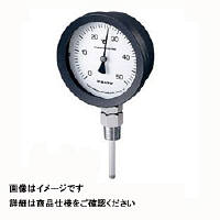 佐藤計量器製作所 バイメタル温度計 BM-S-100P (0/200℃、 L=50mm、 R(PT) 1/2) 1個 (直送品)