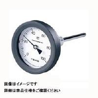 佐藤計量器製作所 バイメタル温度計 BM-T-75P (0/200℃、 L=150mm、 R(PT) 1/2) 1個 (直送品)