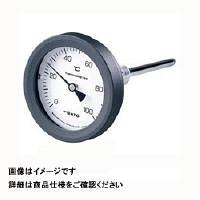 佐藤計量器製作所 バイメタル温度計 BM-T-75P (0/200℃、 L=50mm、 R(PT) 1/2) 1個 (直送品)