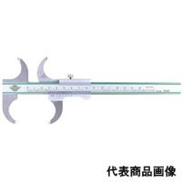 中村製作所 カノン 両丸口ステンレスノギス 20cm RA20 1個 (直送品)