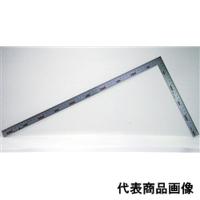 シンワ測定 曲尺 厚手広巾シルバー 50cm 表裏同目 4段目盛 1個 (直送品)