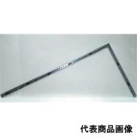 シンワ測定 曲尺 角厚シルバー 50cm/1尺6寸 併用目盛日本一 1個 (直送品)
