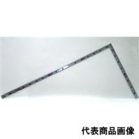 シンワ測定 曲尺 角厚シルバー 1尺6寸/50cm 併用目盛鶴亀 1個 (直送品)