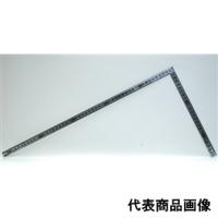 シンワ測定 曲尺 角厚シルバー 50cm 表裏同目重宝 1個 (直送品)