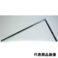 シンワ測定 曲尺 角厚シルバー 1尺5寸 裏面角目重宝 1個 (直送品)
