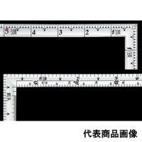 シンワ測定 曲尺 高級角薄シルバー 1尺5寸 裏面角目角薄匠甚五郎 1個 (直送品)