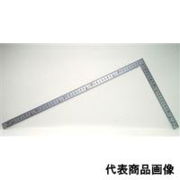 シンワ測定 曲尺 厚手広巾シルバー 50cm 表裏同目 8段目盛cm数字 1個 (直送品)