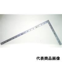 シンワ測定 曲尺 厚手広巾シルバー 1尺6寸 表裏同目 1個 (直送品)