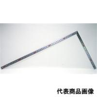 シンワ測定 曲尺 同厚シルバー 50cm 表裏同目 マグネット付 1個 (直送品)