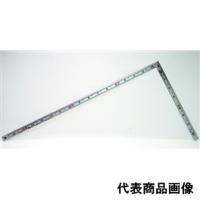 シンワ測定 曲尺 同厚シルバー 1尺6寸 表裏同目 マグネット付 1個 (直送品)