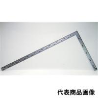 シンワ測定 曲尺 厚手広巾シルバー 50cm/1尺6寸 併用目盛 1個 (直送品)