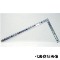シンワ測定 曲尺 巻金シルバー 30cm 裏面角目 1個 (直送品)