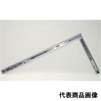 シンワ測定 曲尺 巻金シルバー 30cm/1尺 併用目盛 1個 (直送品)