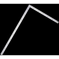 シンワ測定 洋裁尺 シルバー 75×35cm 1個 (直送品)