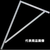 シンワ測定 曲尺 筋交付大金ステン 1m×60cm 表裏同目 1個 (直送品)