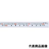 シンワ測定 直尺 シルバー1m 併用目盛 cm表示 W左基点 1個 (直送品)