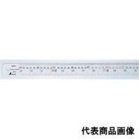 シンワ測定 直尺 シルバー1m 併用目盛 cm表示 右基点 1個 (直送品)