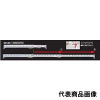 シンワ測定 直尺 3倍尺のび助一方向式 尺相当目盛付き C 12尺(363.6cm) 1個 (直送品)