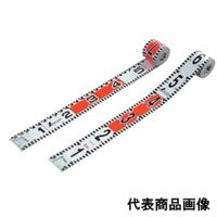 シンワ測定 ロッドテープ 巾60mm ガラス繊維製 5m 1個 (直送品)