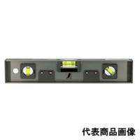 シンワ測定 レベル 高級アルミH型 600mm 6本線 マグネット付 1個 (直送品)