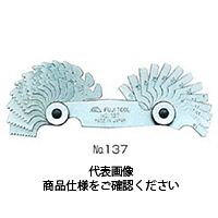 フジツール 官用テーパーねじ用ピッチゲージ NPT 1個 (直送品)
