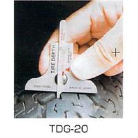フジツール タイヤデップスゲージ TDG-20 1個 (直送品)
