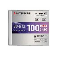 三菱ケミカルメディア 1回録画用 ブルーレイディスク 520分 片面3層 4倍速対応BD-R XL 1枚ケース プリンタブル VBR520YP1D1