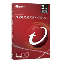 ウイルスバスター クラウド 3年版 PKG TICEWWJCXSBUPN3701Z 1本