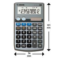 キヤノン 環境配慮型電卓 小型 LS-12TUIIG