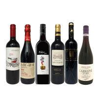 人気赤ワインブドウ品種別飲み比べ6本