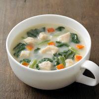 無印良品 食べるスープ 鶏肉とほうれん草のクリームシチュー 02183042 良品計画 <化学調味料不使用>