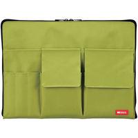 バッグインバッグ A4 黄緑