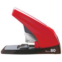 マックス 中型フラットホッチキス バイモ80 HD-11UFL/R 赤 HD90498