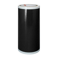 マックス 屋外用ビーポップシート200mmSL-G201Nクロ 黒 1箱(2巻入)