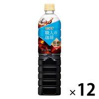【ボトルコーヒー】UCC上島珈琲 職人の珈琲 アイスコーヒー 低糖 930ml 1箱(12本入)
