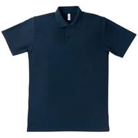 MAXIMUM(マキシマム) 事務服 ポロシャツ ネイビー S MS3108A