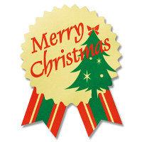 シール クリスマスツリー 40枚
