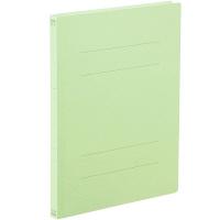 アスクル フラットファイル B5タテ グリーン エコノミータイプ 10冊