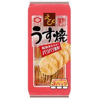 亀田製菓 えびうす焼 3袋