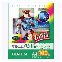 富士フイルム 画彩 写真仕上げValue A4 WPA4100VA 1袋(100枚入)