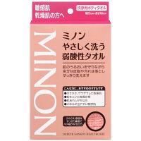 ミノン やさしく洗う 弱酸性 タオル