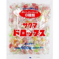 サクマドロップス 1袋(800g:約211粒入り) サクマ製菓