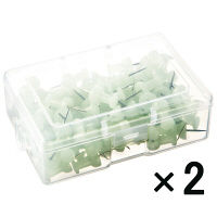 【アウトレット】ミツヤ 日本製蓄光プッシュピン 1セット(200本:100本入×2) TEPB-100