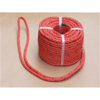 高木綱業 水難救助用ロープ オレンジ 12mm×30m 36-9331 1個(30m)(直送品)